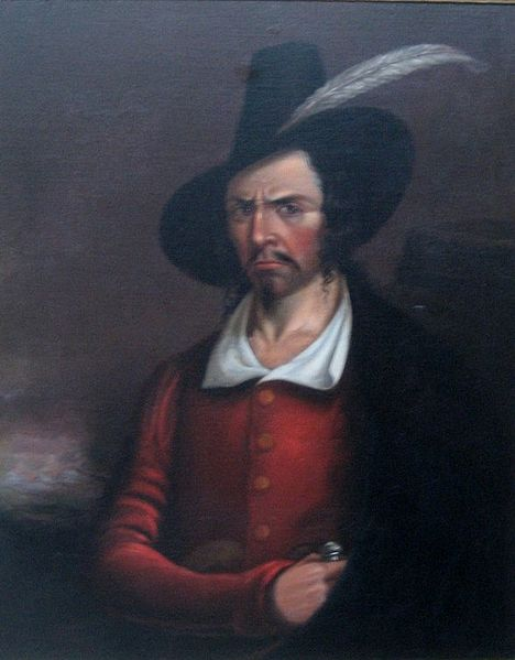 Anonymous portrait of Jean Lafitte early_19th  century Public domain per wikipedia